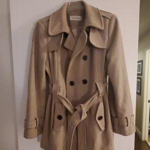 Calvin Klein beige coat